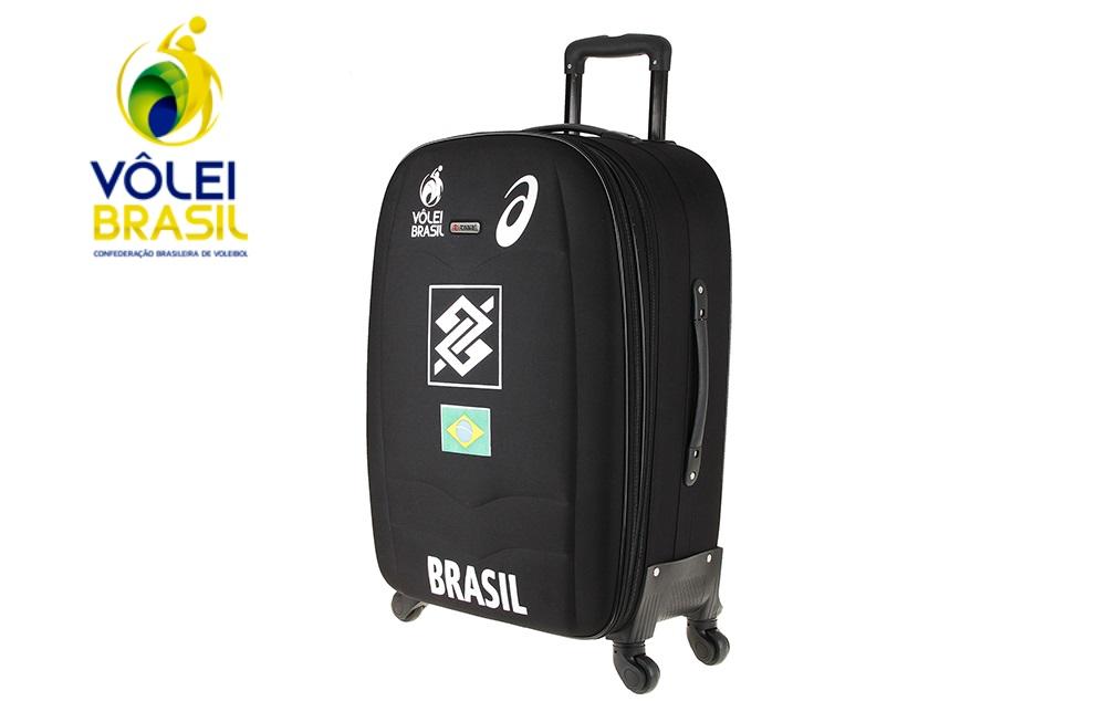 de65aeae865 Mala de viagem personalizada para a Confederação Brasileira de Voleibol